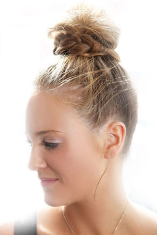 top knot hair style how to topknot 5643
